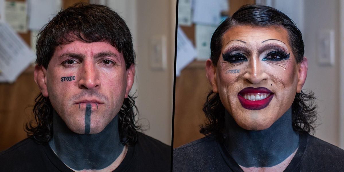 MMA Fighter Known as 'Two Guns' Performs as Lola the Drag Queen at Night