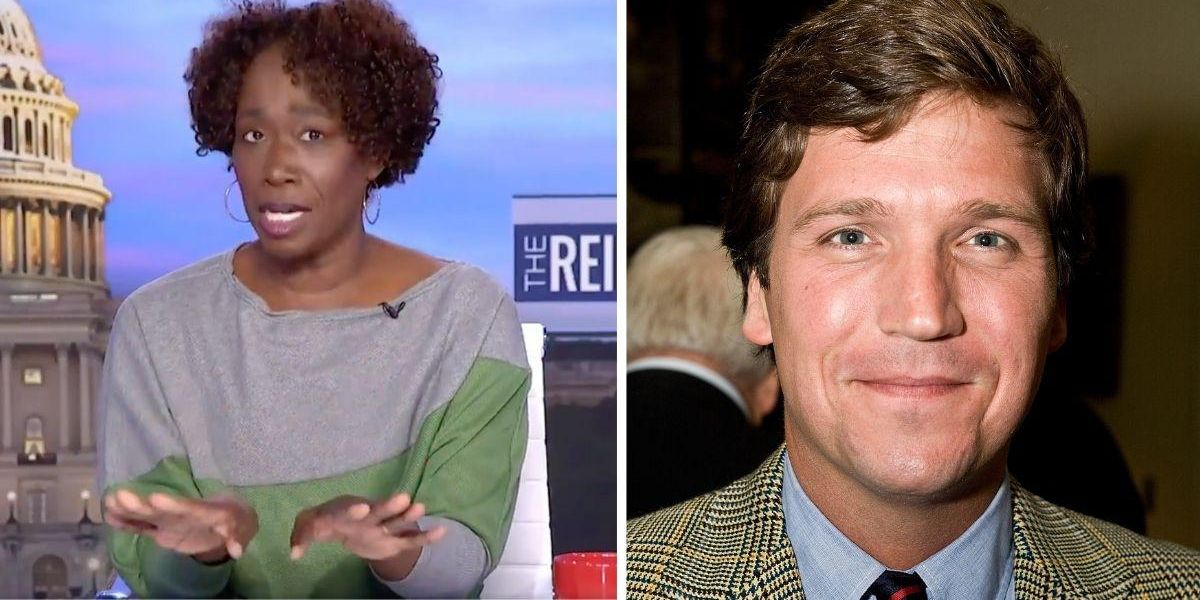 MSNBC's Joy Reid Effortlessly Destroys 'Tuckums' Carlson After He Called Her 'The Race Lady'