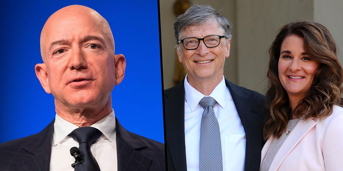 Jeff Bezos Trends As People Compare his Divorce Settlement to Melinda Gates' Potential Payout
