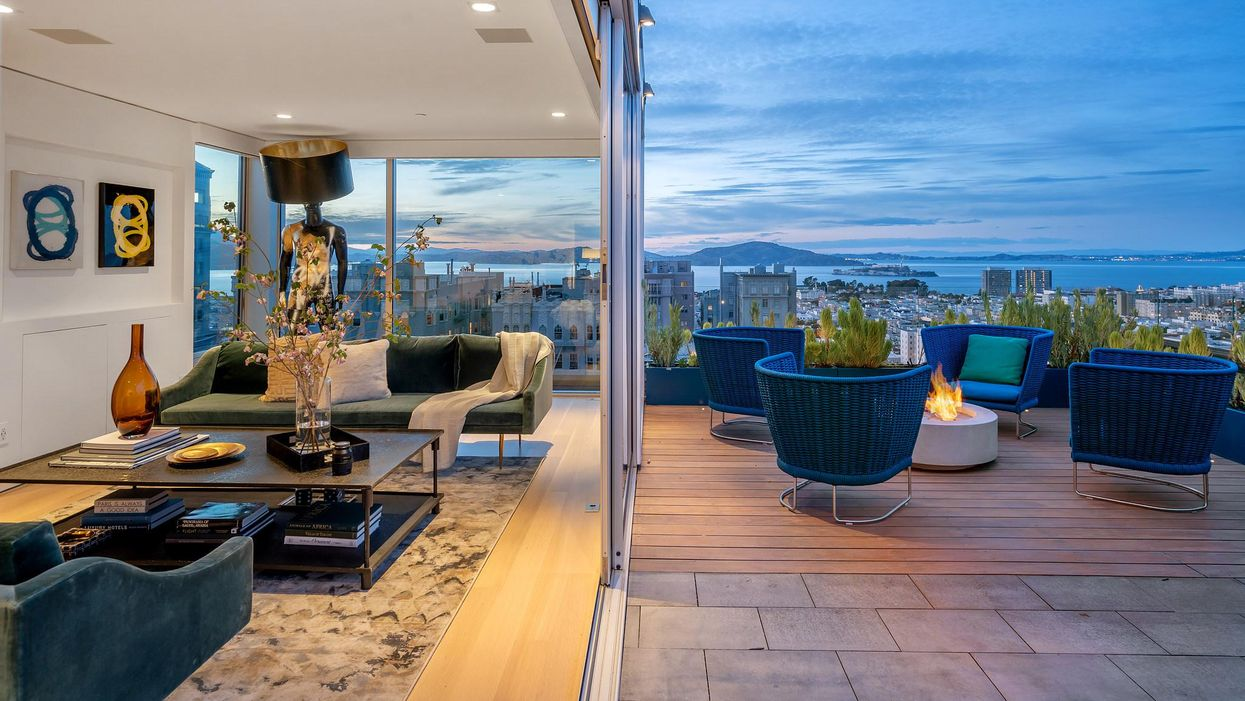 Video House Tour: Pacific Heights penthouse with epic rooftop lounge asks $7.9 million