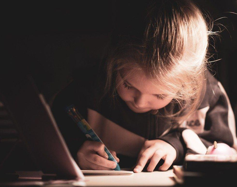 https://www.maxpixel.net/Kid-Girl-Young-Student-Writing-Child-Childhood-5929445