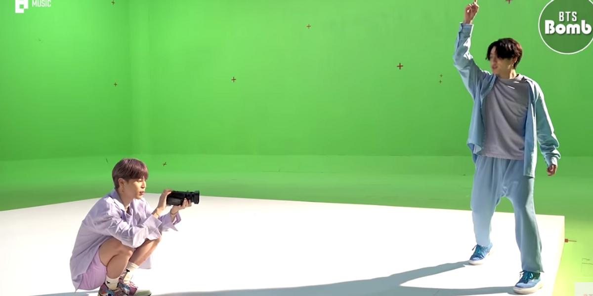 Watch Jimin Direct Jungkook On Set
