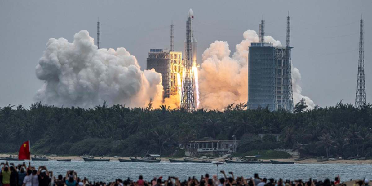 21-Ton Chinese Rocket Is Plummeting Back to Earth and Could Land Anywhere