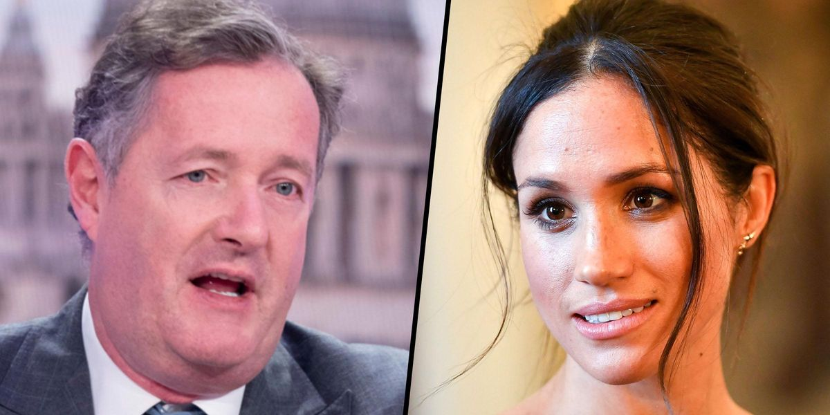 Piers Morgan Responds to Meghan Markle's Book, Asking 'Is This a Joke?'