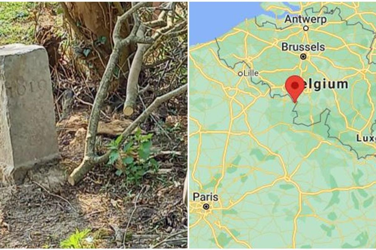 A Belgian farmer moved a border stone, unknowingly making France 3,200 square feet smaller