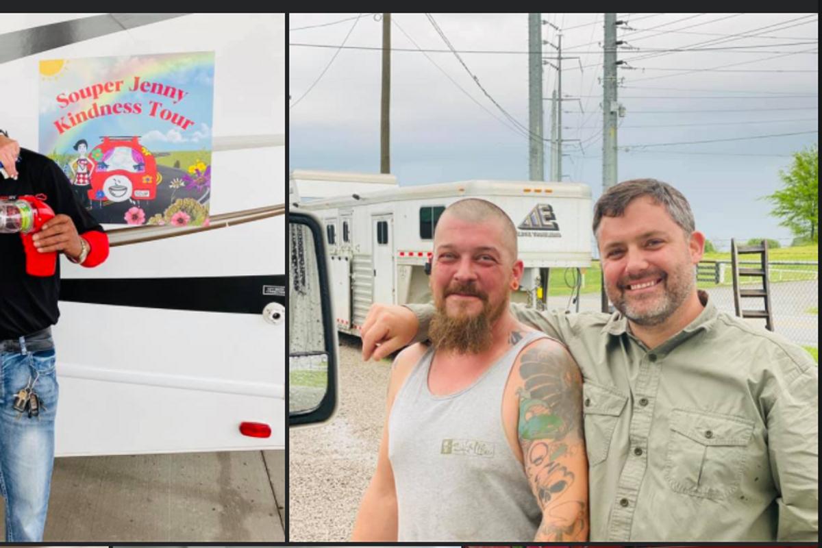 Atlanta woman launches 'Souper Kindness' tour, feeding strangers across America