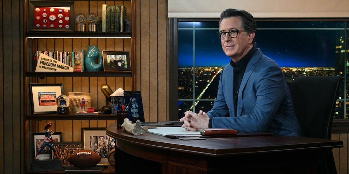 Deace: Leftists like Stephen Colbert don't care about your freedoms. They desire power and will do what they must to keep it.