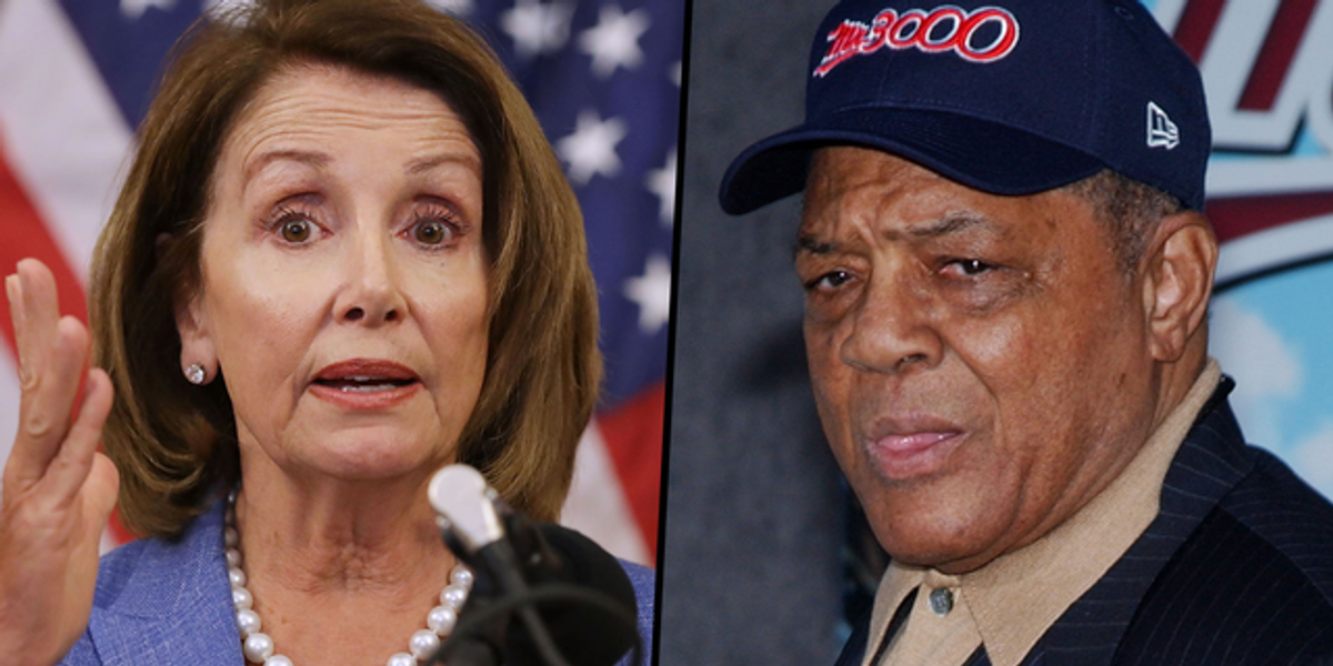 Nancy Pelosi Tweets Happy Birthday to Willie Mays but Posts Photo of Wrong Player