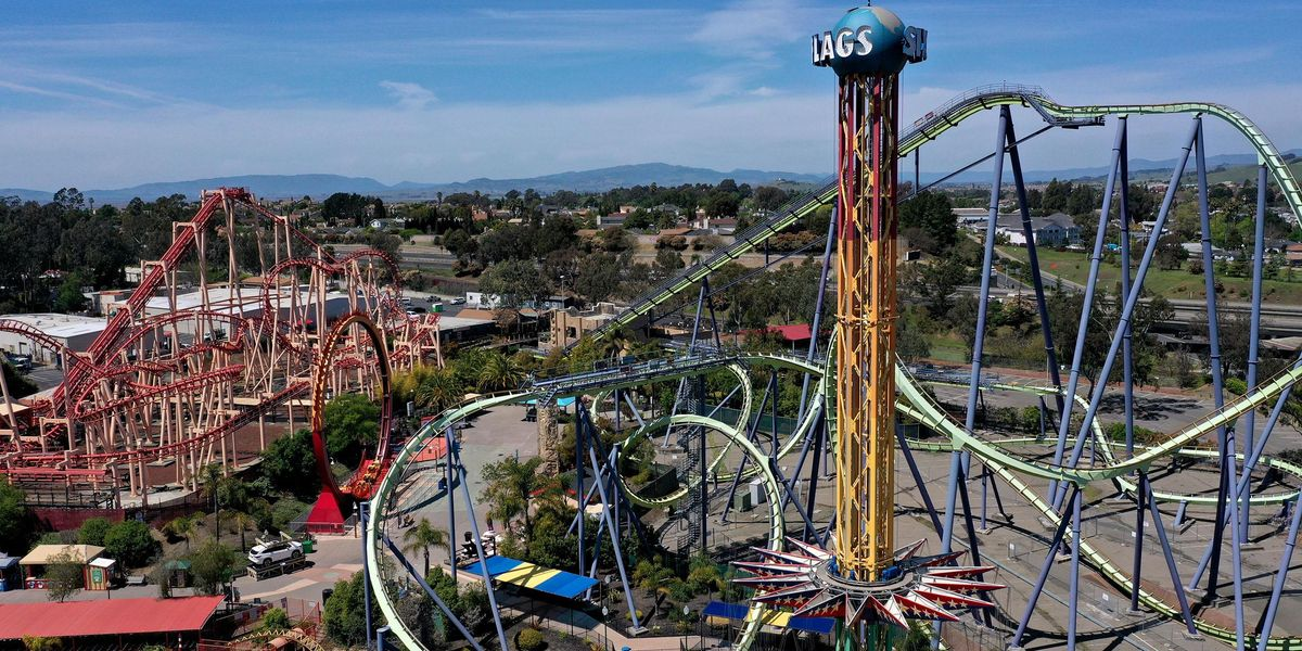 Viral TikTok Shows Police at Six Flags Confronting Woman Over her 'Too Small' Shorts