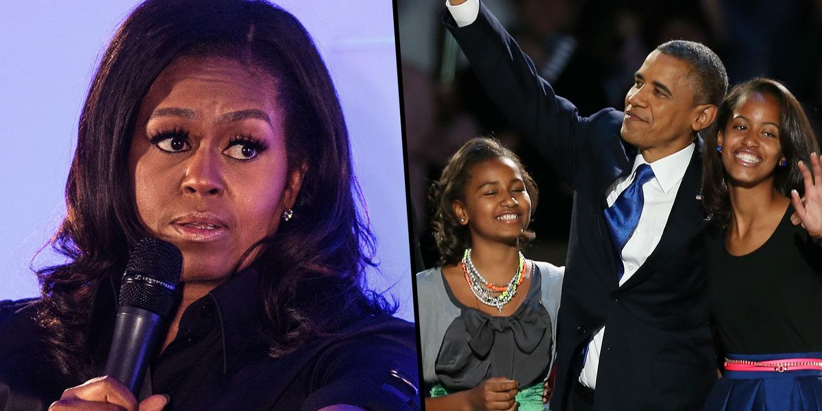 Michelle Obama Worries About Racial Profiling When Her Daughters Drive Alone