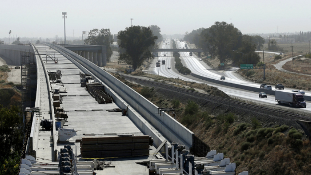 Biden plan could save California high-speed rail — if state leaders can ever unite