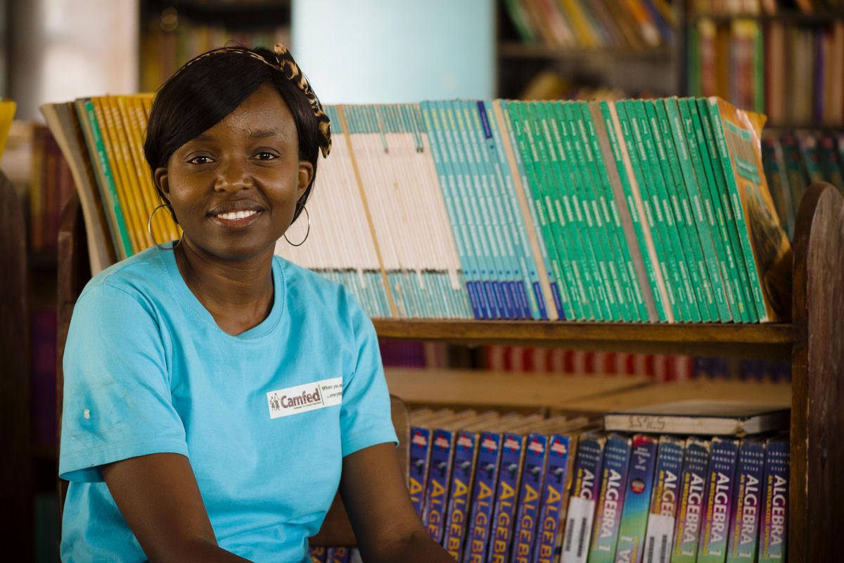 This woman almost dropped out of school due to poverty. Now she's helping others stay in school.