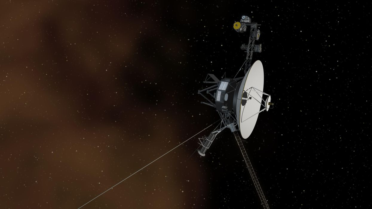Humanity's most distant space probe captures a strange sound