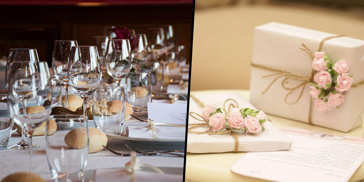 Bride and Groom Slammed for Giving Guests Meals Based on How Much Was Spent on Their Wedding Gift