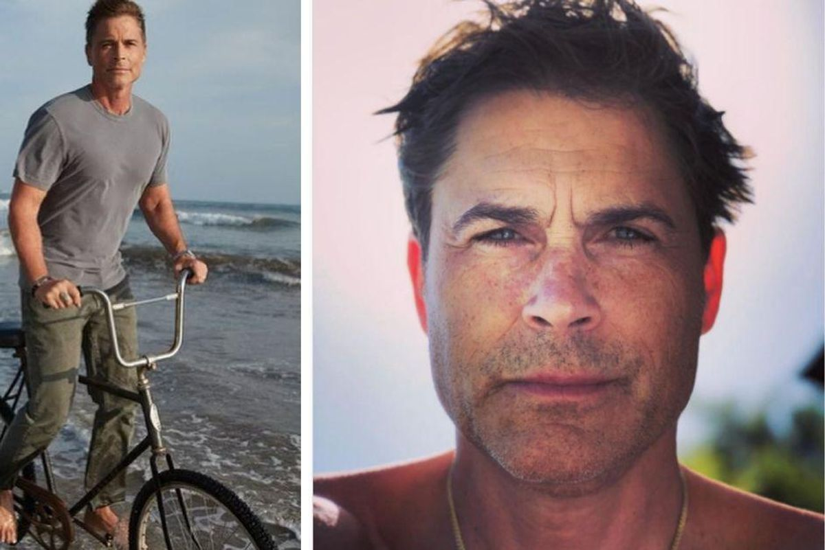 Rob Lowe, celebrating 31 years of sobriety, offers hope to other recovering addicts