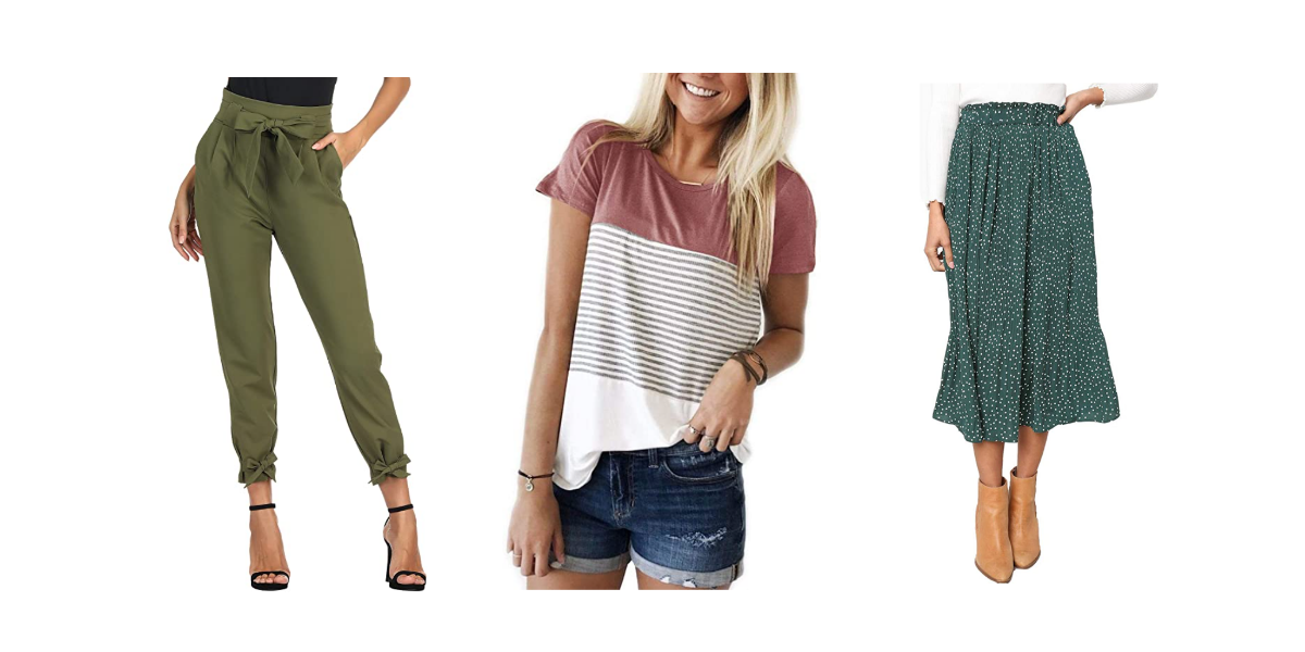 37 Amazon Clothing Pieces People Keep Coming Back For