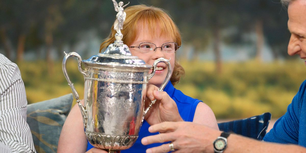 Amy Bockerstette Becomes First Golfer With Down's Syndrome To Play in College Championship