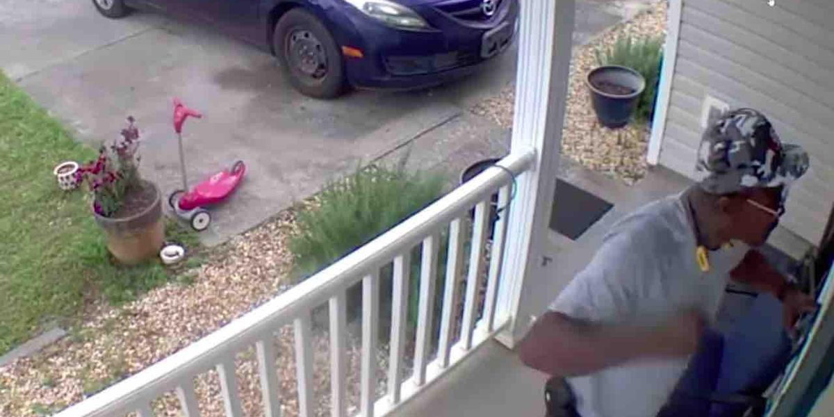 'You wanna f***in' play? Let's play!': Intruder kicks in door, allegedly threatens his kids' mother. But woman in home has a gun — and ends threat for good.