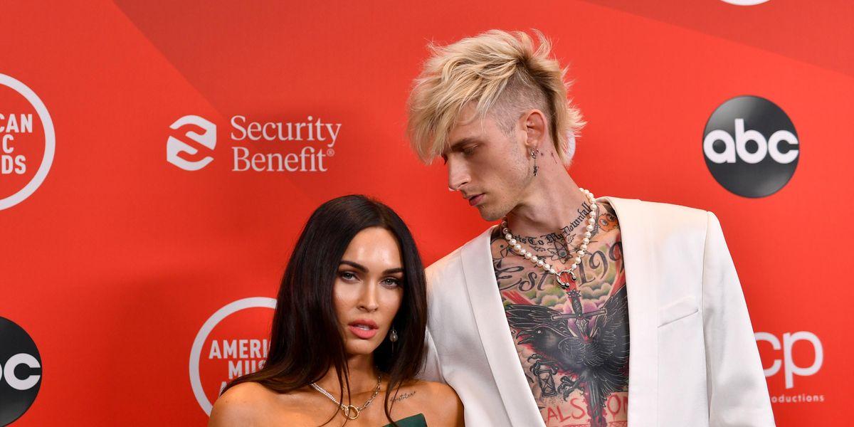 Machine Gun Kelly Explains His Necklace of Megan Fox's Blood