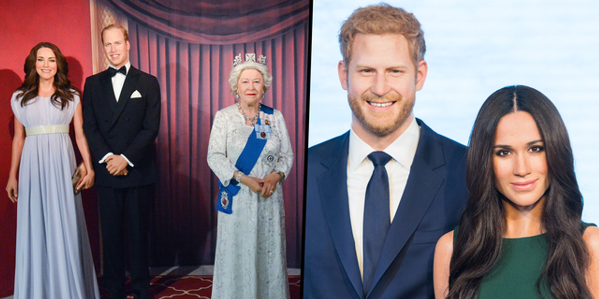 Meghan and Harry's Waxworks Moved Away From the Royal Family at Madame Tussauds