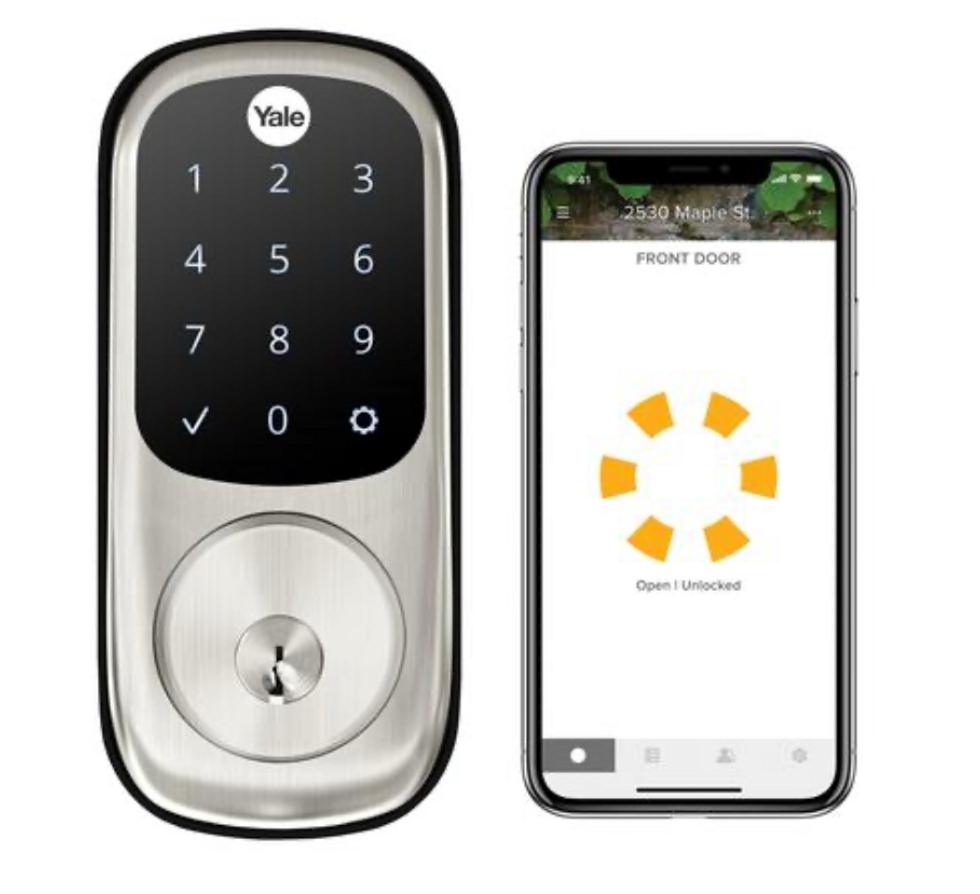 The Yale Assure touchscreen smart door lock