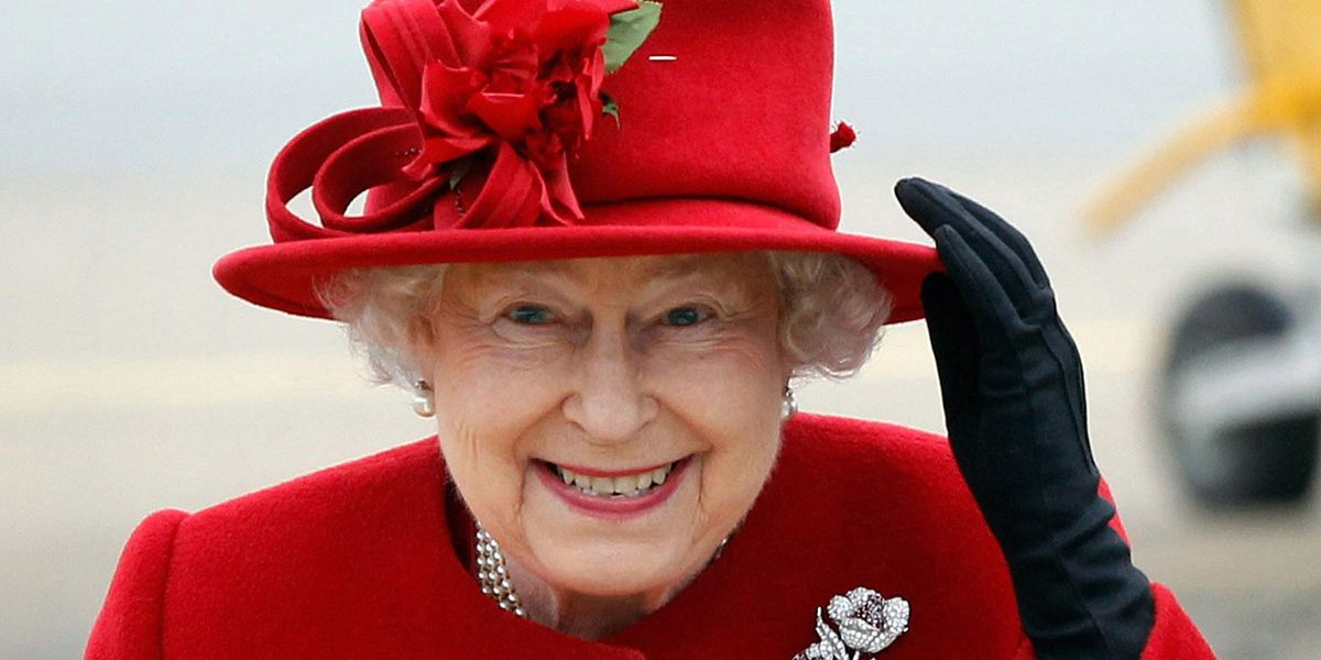Buckingham Palace Wants Picture of 'MAGA Queen' Elizabeth Removed From 'Trump Train'