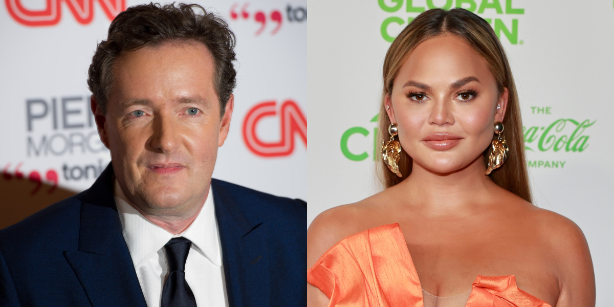 Piers Morgan Just Tried To Criticize Chrissy Teigen For Bullying—And It Backfired Spectacularly