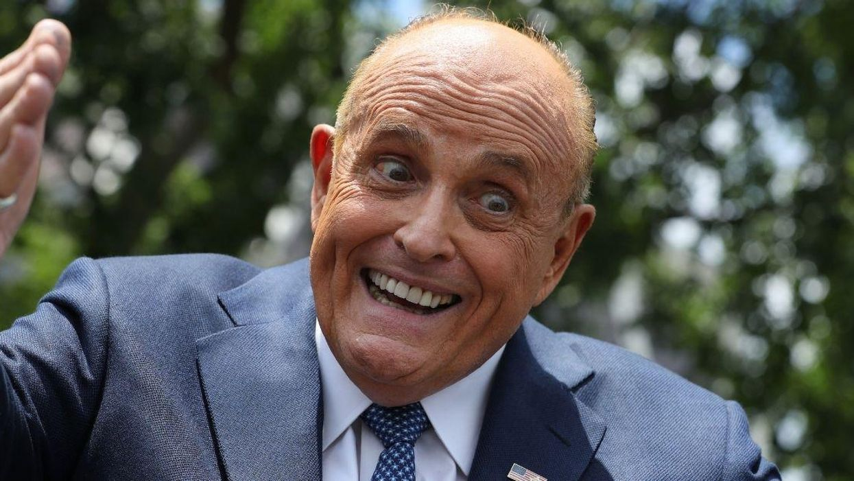Giuliani Dragged After Butchering The Spelling Of Candidate's Name In Bonkers Endorsement Tweet