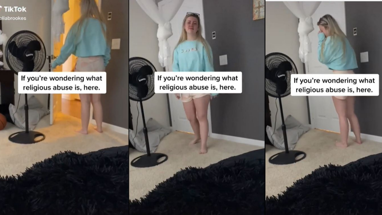 Video Of Religious Mom Attempting To Exorcise 'Foul Spirits' From Her Gay Daughter's Room Goes Viral