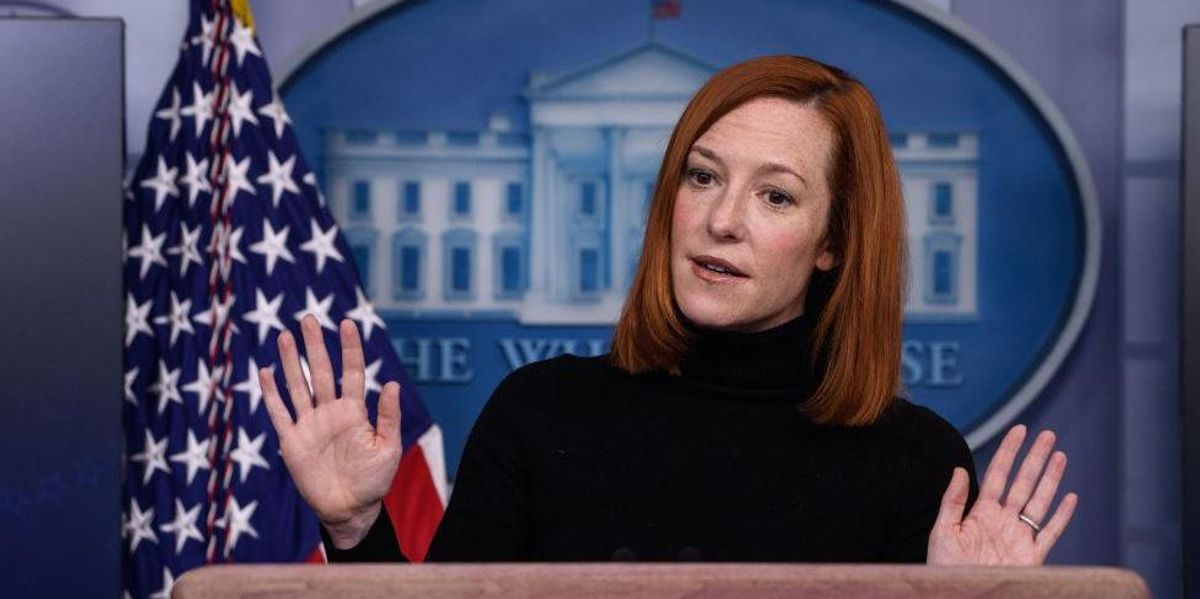 Fox News reporter corners Jen Psaki with Biden's own words about lifting COVID restrictions: 'Neanderthal thinking'