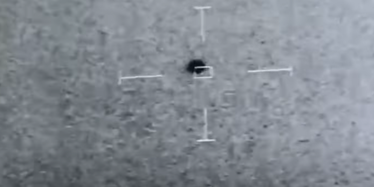 Pentagon confirms leaked US Navy footage of spherical transmedium UFO that vanished into the ocean is real