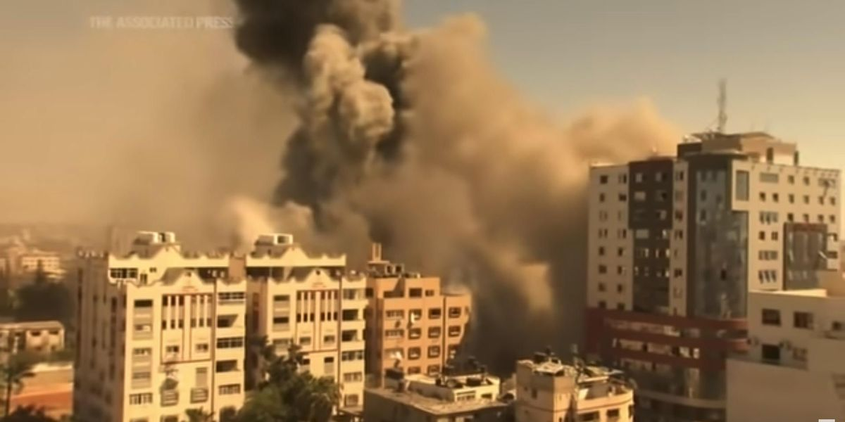 Israel destroys Gaza building housing Associated Press, says Hamas intel worked from building