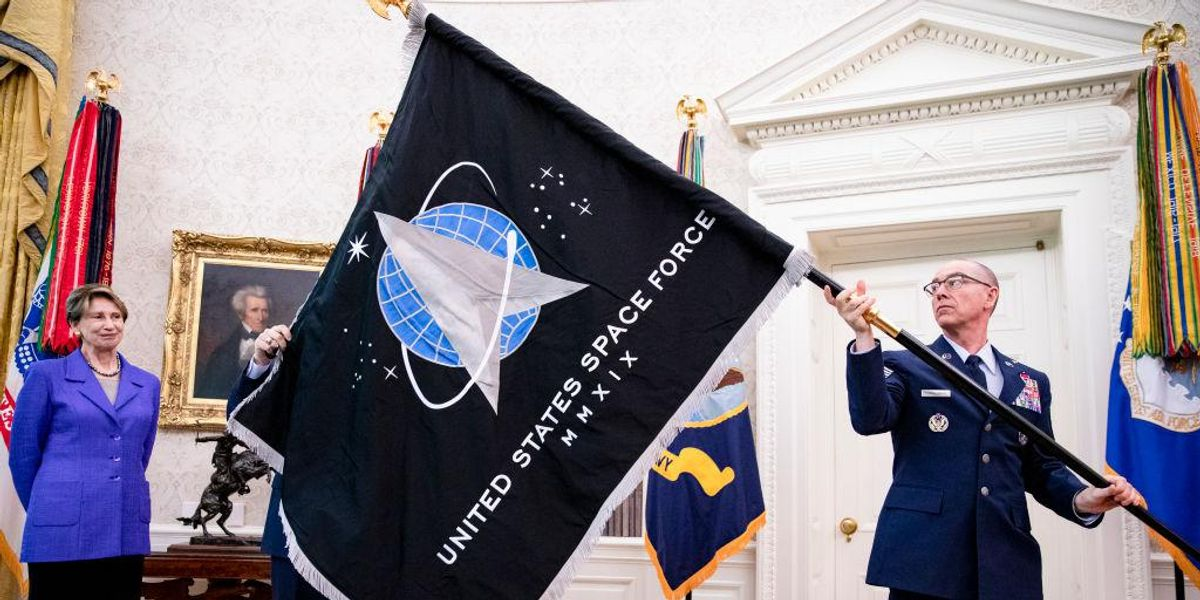 Space Force commanding officer reportedly fired after criticizing Marxism and critical race theory in the military