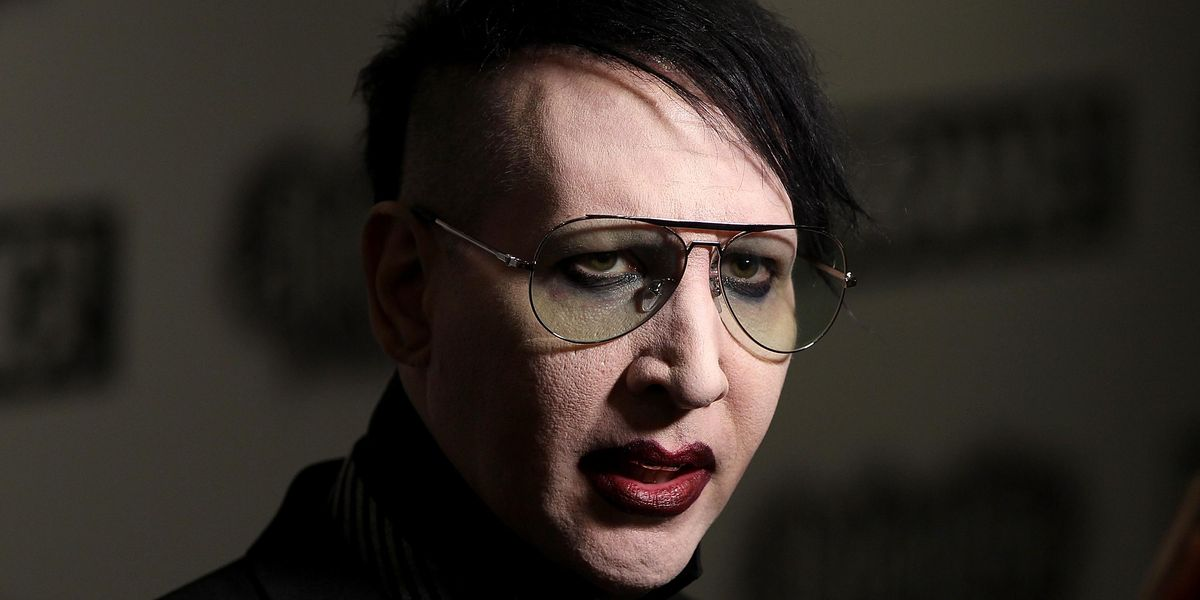 Warrant for Marilyn Manson's Arrest Over Spitting Incident