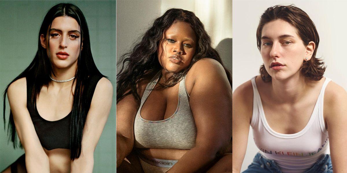 Arca, Raisa Flowers, King Princess Front Calvin Klein's Pride Campaign