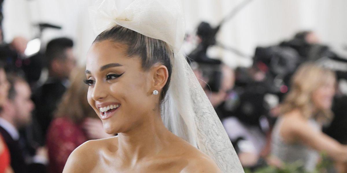Ariana Grande Reveals First Photos of Wedding