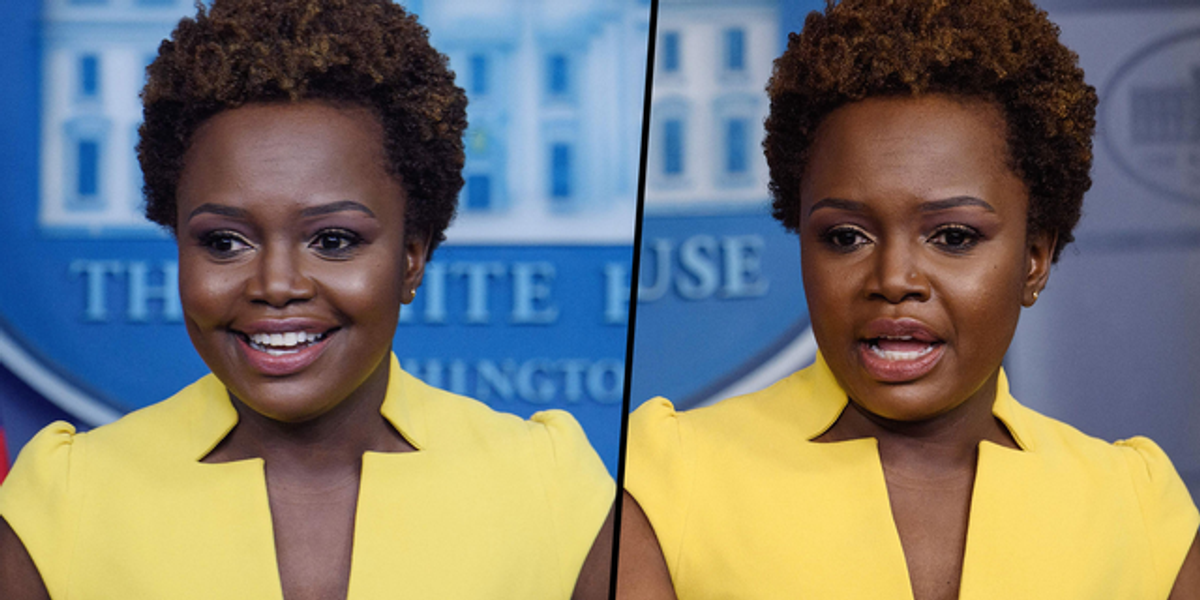 Karine Jean-Pierre Becomes First Black Woman in 30 Years To Lead White House Press Briefing