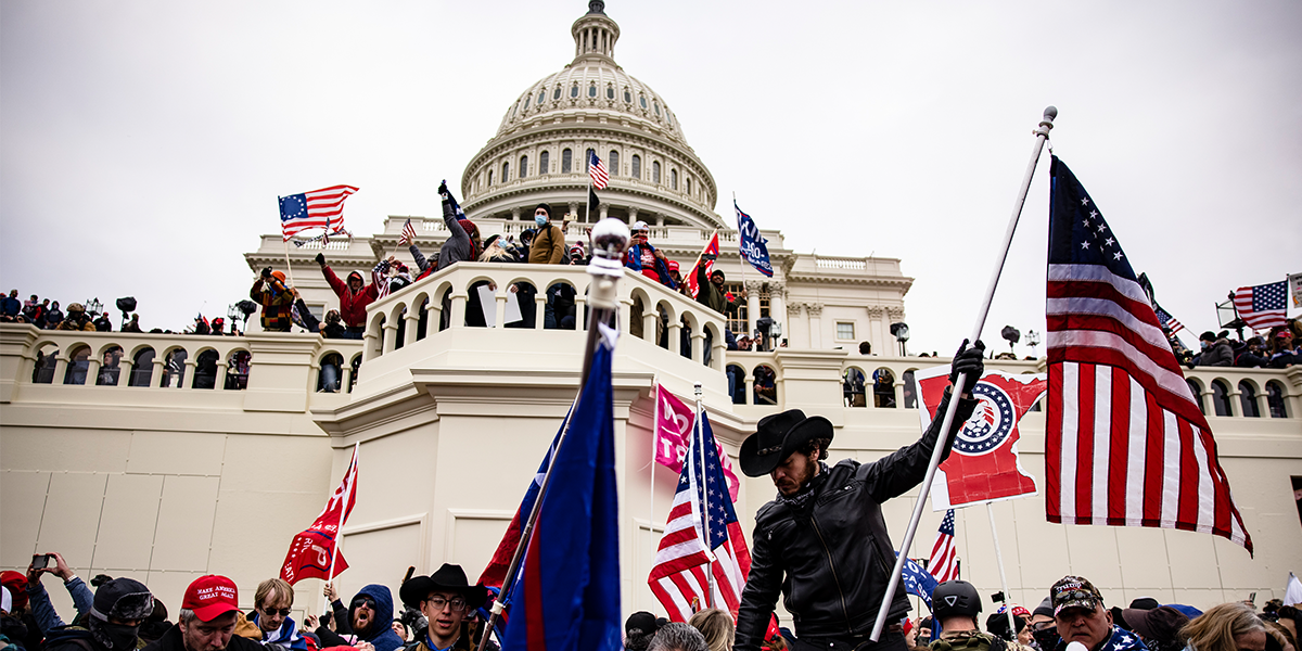 Washington Man Charged in Capitol Riot After FBI Recovers His Father's Deleted Videos