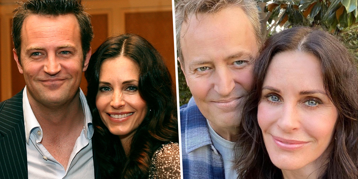 Courteney Cox and Matthew Perry Found to Be Related