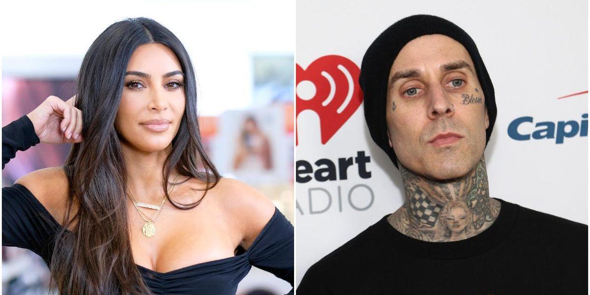 Kim Kardashian Responds to Travis Barker Affair Rumor