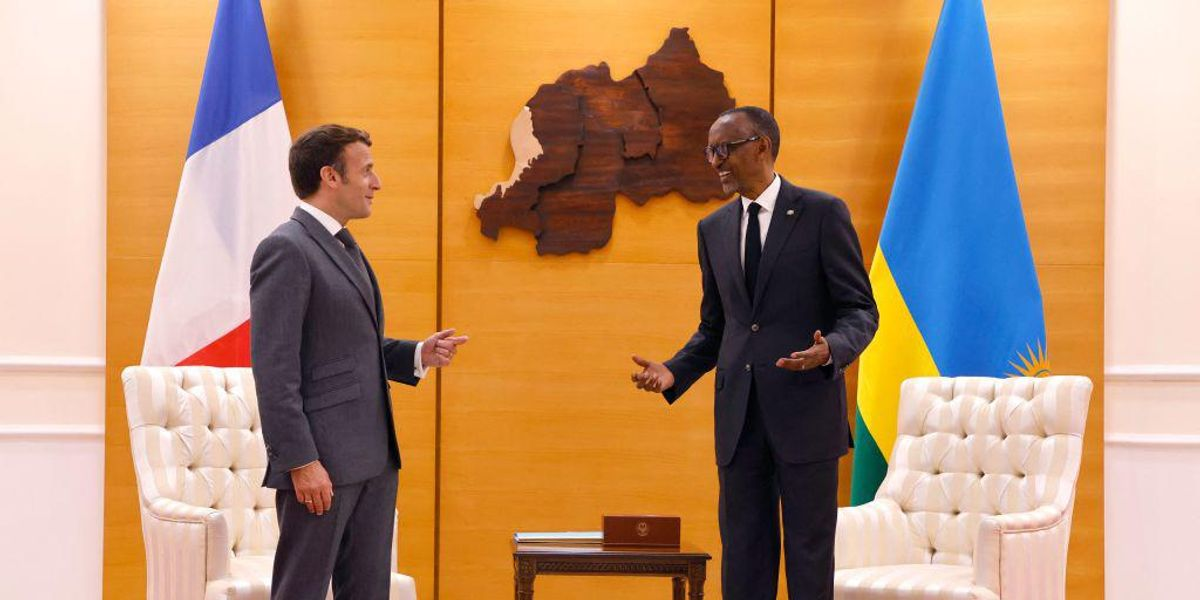 <div>France Offers Tepid 'Apology' to Rwanda During Kigali Genocide Memorial Speech</div>