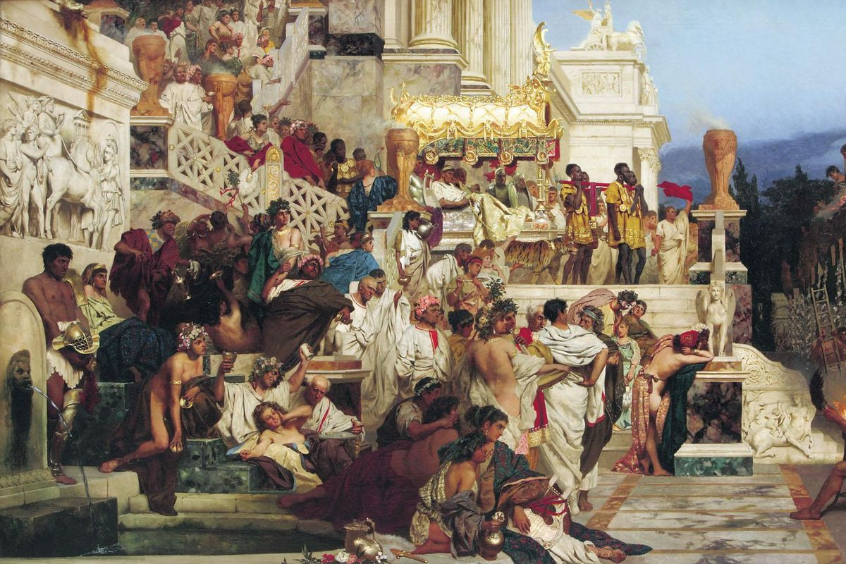 7 most notorious and excessive Roman Emperors