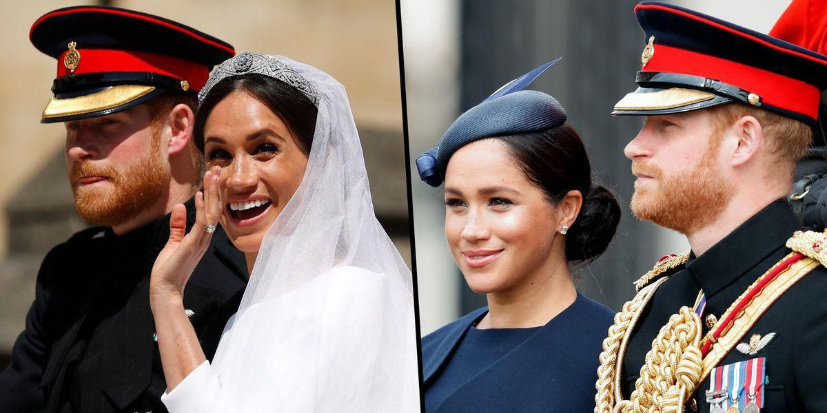 Palace Aides Reportedly Want Meghan and Harry to Give Up Royal Titles