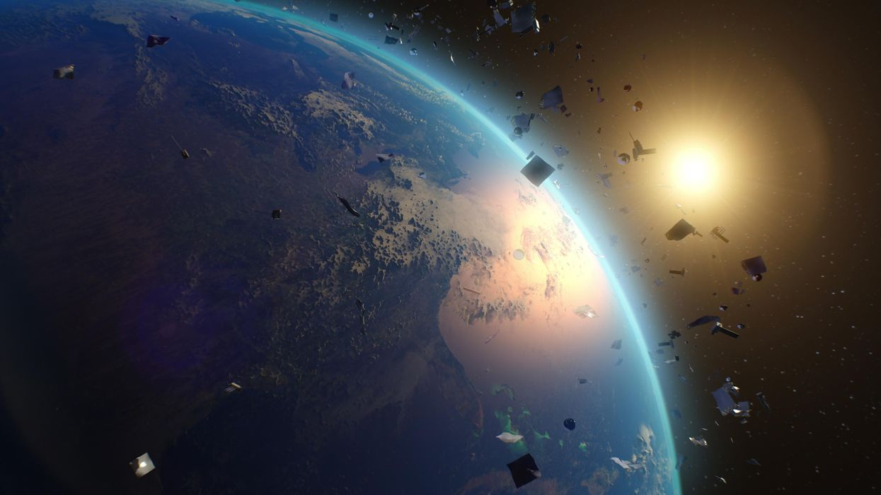 How space debris created the world's largest garbage dump