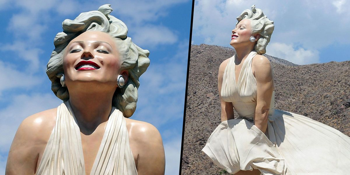Over 40,000 People Sign Petition to 'Stop' 'Misogynist' Marilyn Monroe Statue in Palm Springs
