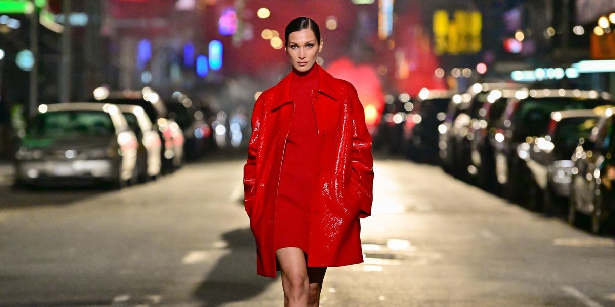 Bella Hadid Joins a Free Palestine March in NYC