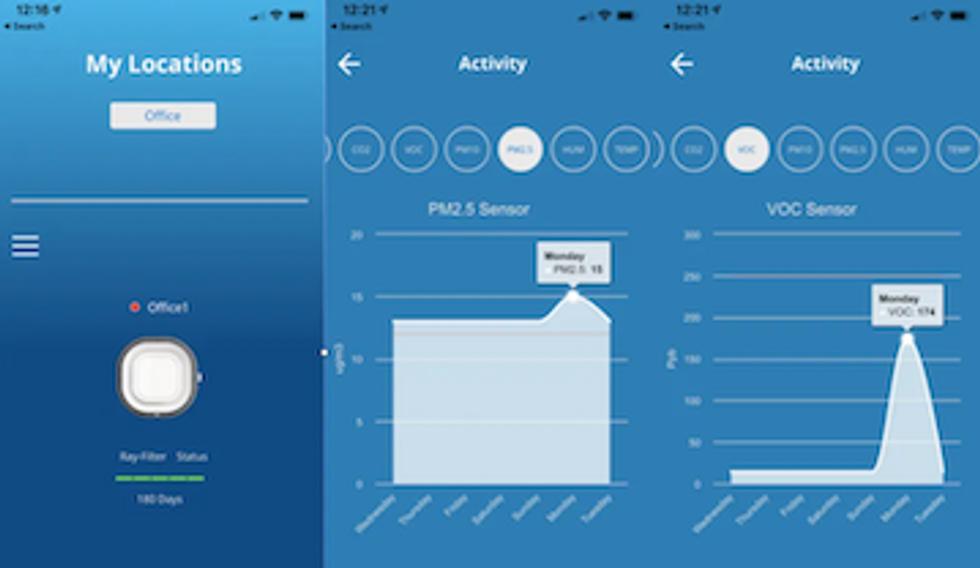 Aura Air app