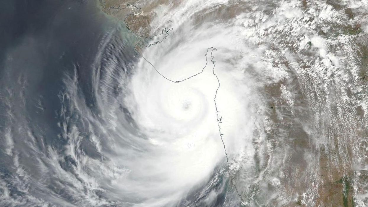 Tropical Cyclone Tauktae Is Fifth-Strongest Cyclone on Record in the Arabian Sea
