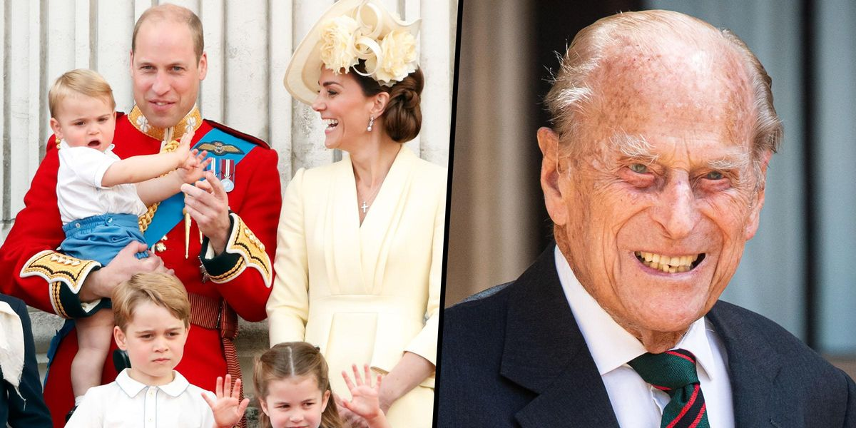 William and Kate Say Their Children 'All Miss Their Much Loved Great-Grandfather' Prince Philip