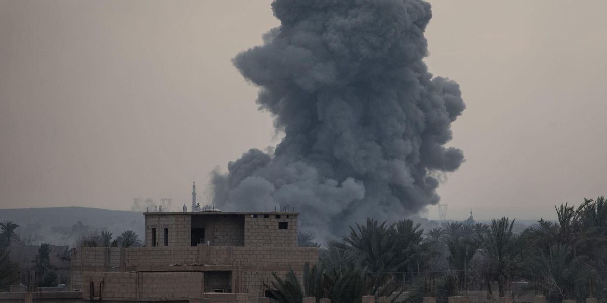 Dad Dies in Airstrike After Telling His Daughters Not To Be Scared